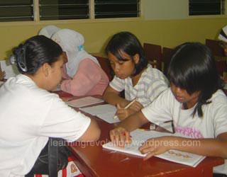Yang muda selalu belajar meski tidak meneruskan di bangku sekolah